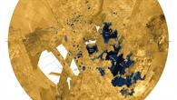 """Das """"Land der Seen und Meere"""" am Titan%2dNordpol"""