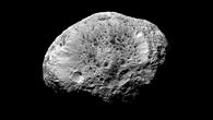 Hyperion %2d unregelmäßig geformt, ungewöhnliche Oberfläche