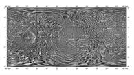 Darstellung der gesamten Oberfläche von Mimas