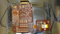 Hauptplatine und CCD%2dPlatine der Framing Camera