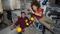 Frische Früchte für die ISS