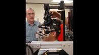 Astronauten testen die Otolith%2dAnlage
