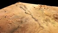 Perspektivische Farbansicht von Dao und Niger Valles
