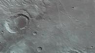 Anaglyphenbild des Nordens von Ladon Valles mit den Kratern Shambe und Sigli