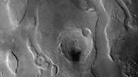 Tiu Vallis %2d Schwarzweiß%2dDraufsicht