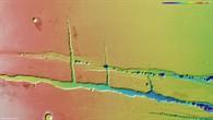Topographische HRSC%2dBildkarte von Tractus Catena