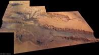 Zentraler Teil der Valles Marineris