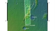 Topographische Karte der Phlegra Montes