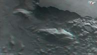 Anaglyphenbild von Juventae Chasma