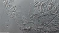 Anaglyphenbild  von Sulci Gordii