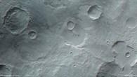 Anaglyphenbild des Nordens von Hesperia Planum