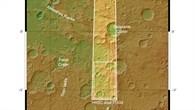 Topographische Übersicht des Nordens von Hesperia Planum