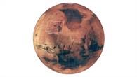 Lage der Kasei Valles auf dem Marsglobus