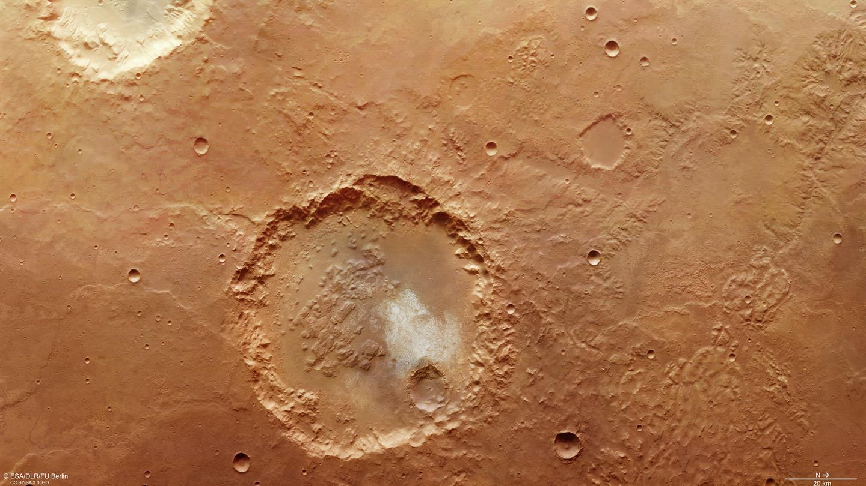 Chaos und Wasser auf dem Mars