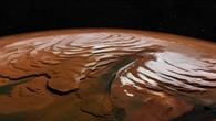 Der Taleinschnitt von Chasma Boreale am Mars%2dNordpol
