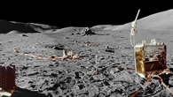 Experimente der Apollo 17%2dMission auf dem Mond