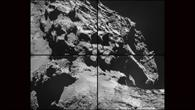 Der Komet am 24. Oktober 2014