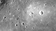 Die Apollo%2d11%2dLandestelle aus der Mondumlaufbahn