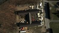 Aufnahme eines zerstörten Gebäudes mit dem MACS%2dLuftbildkamerasystem