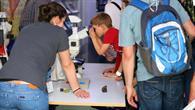 Mikroskopieren im DLR_School_Lab