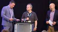 Radio1%2dModeratoren mit Dr. Martin Knapmeyer