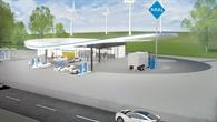 Tankstelle im ländlischen Raum