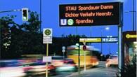 Wechseltextanzeigen im Straßenverkehr