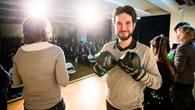 Science Slam Gewinner Attila Wohlbrandt