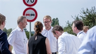 Staatssekretär Muhle besucht Testfeld Niedersachsen