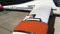 Flügelhandschuh mit integrierten Drucksensoren