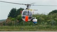 DLR%2dForschungshubschrauber Bo 105 mit Kamerasystem