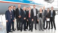 Dr. Matthias Ruete und Paul Verhoef zu Besuch im DLR BS