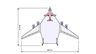 Vergleich zwischen ATTAS und dem simulierten Nurflügler