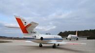 DLR%2dForschungsflugzeuge Falcon und ATRA