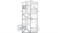 Grundriss der Modelversuchsanstalt von 1907