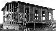 Bau der Modellversuchsanstalt