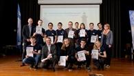 Die Gewinner der Auswahlrunde der PhysikOlympiade im DLR