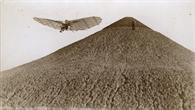 Lilienthal im Flug 1894