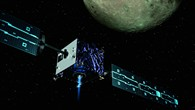 Raumsonde mit elektrischem Antrieb
