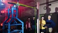 DLR%2d und NASA%2dForscher am Rotorprüfstand