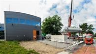 Bauarbeiten am Forschungsgebäude CeraStorE