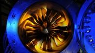 Rotorschaufeln des DLR%2dPrüfstands
