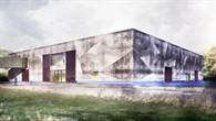 Visualisierung des neuen Laborgebäudes