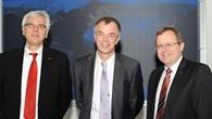 Prof. Wagner, Minister Remmel, Prof. Wörner (v.l.n.r.)