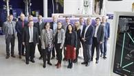 Regierungspräsidentin Anette Solli aus Norwegen zu Besuch beim DLR Lampoldshausen