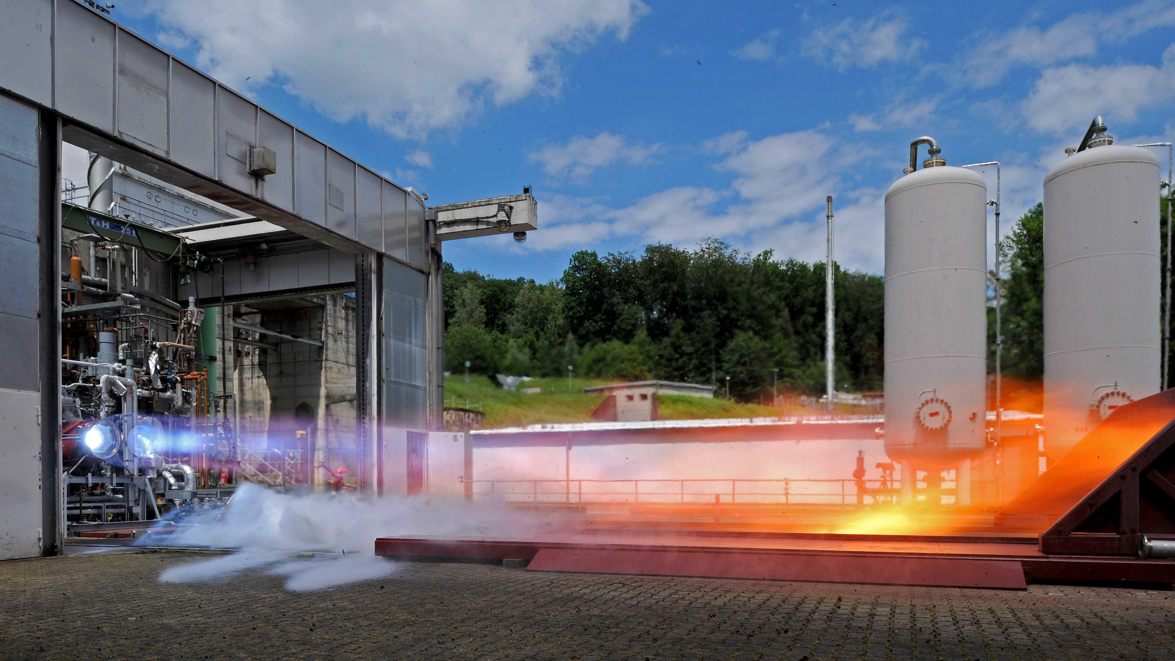 Einstieg in die LOX/Methan-Technologie