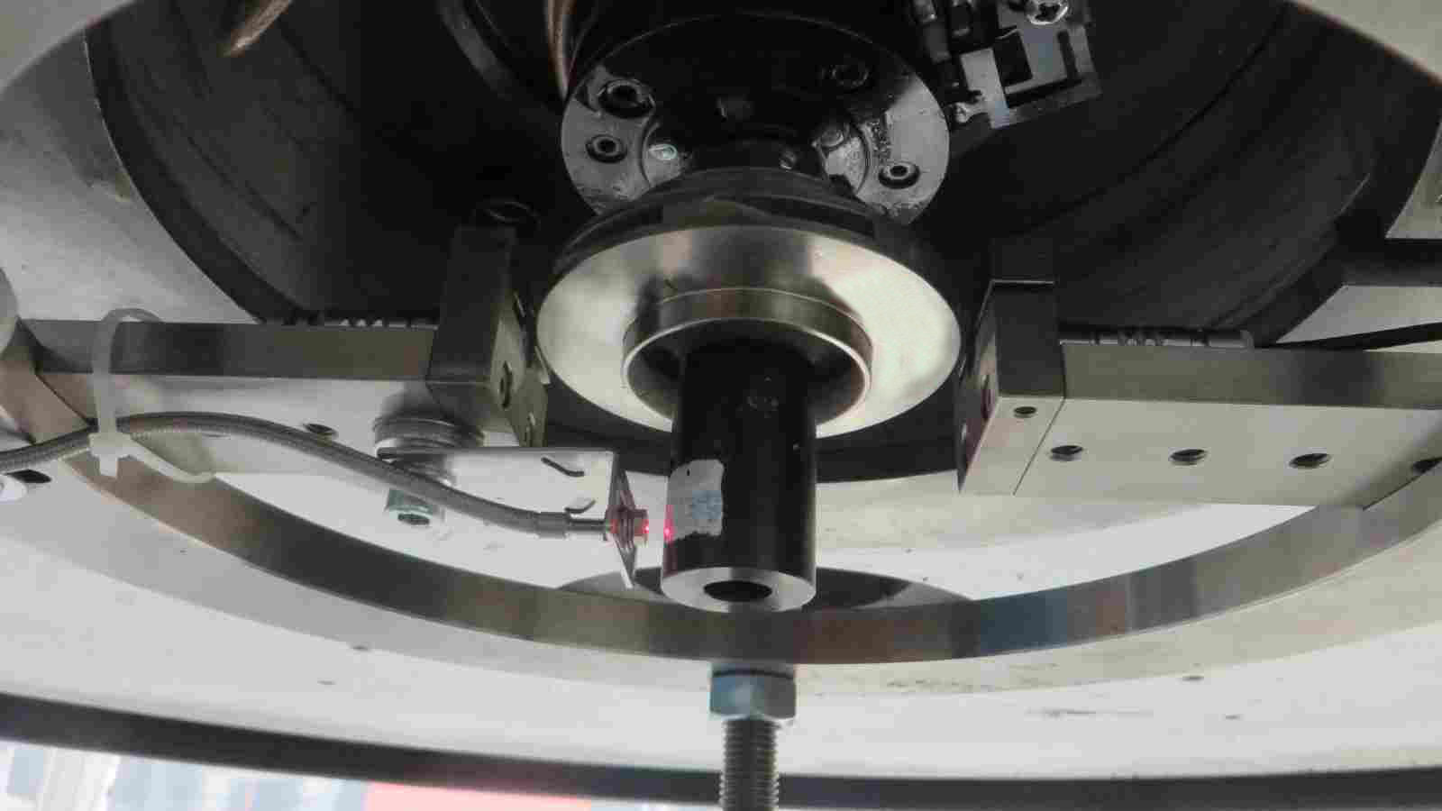3D-gedruckter Titan-6 Aluminium-4 Vanadium-Impeller in der Schleudertestvorrichtung