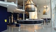 Ausstellungsinnenraum im DLR-Forum für Raumfahrtantriebe