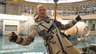 Alexander Gerst beim Training
