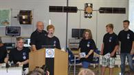 Schülerinnen und Schüler im Funkkontakt zur ISS